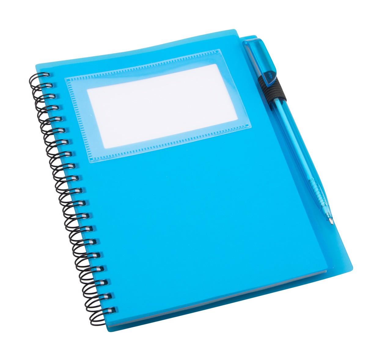 Poznámkový Blok Tagged - Modrá