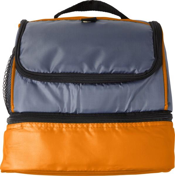 Polyester (210D) cooler bag - Orange
