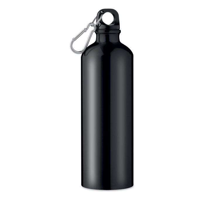 Trinkflasche Alu 750 ml Big Moss - schwarz