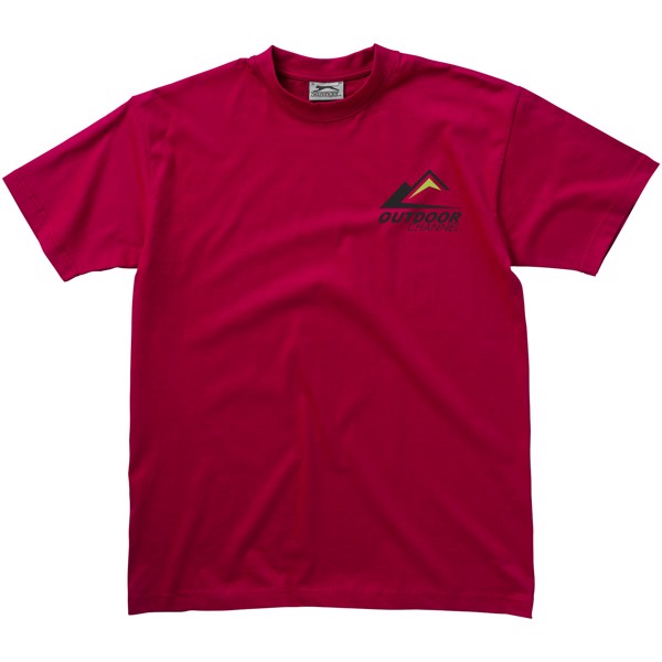 Return Ace short sleeve unisex t-shirt - Dark red / XL