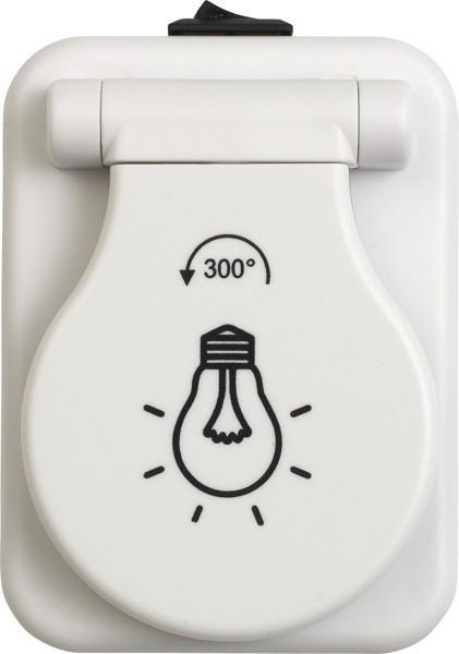COB-Leuchte 'Ready' aus Kunststoff - White