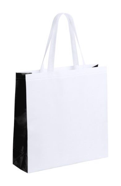 Geantă Cumpărături Decal - Alb / Negru