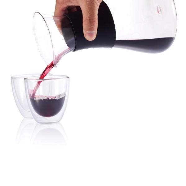 Sada Glu na svařené víno se sklenicemi