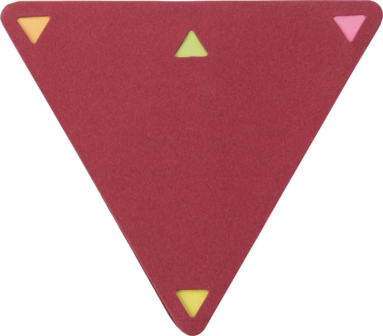Soporte de papel y notas adhesivas - Red