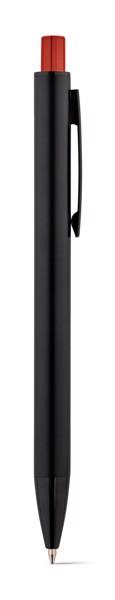 JOAN. Ball pen in aluminium - Red