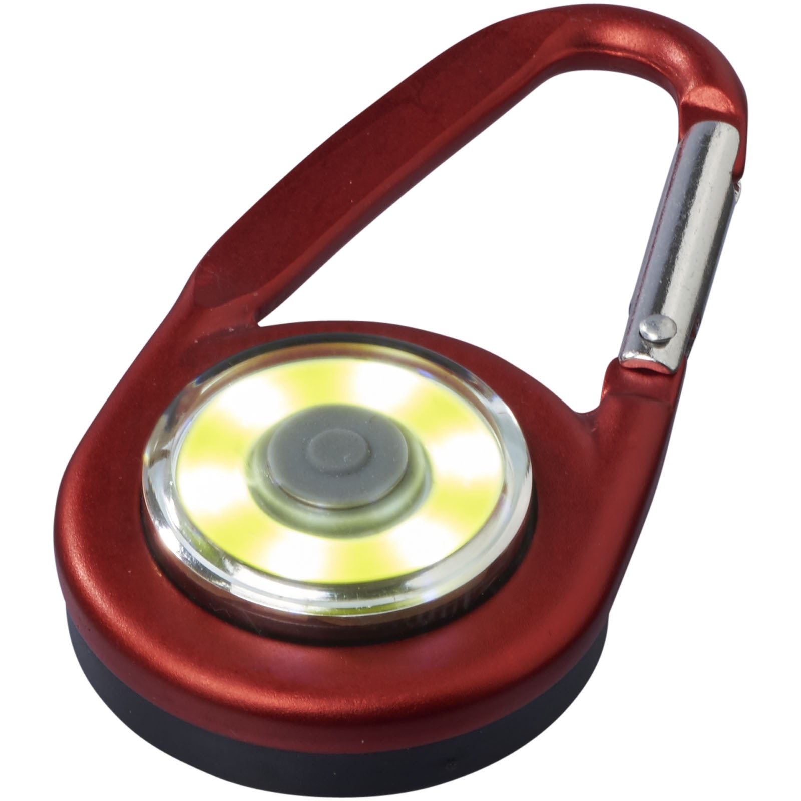 Eye COB light with carabiner - Red