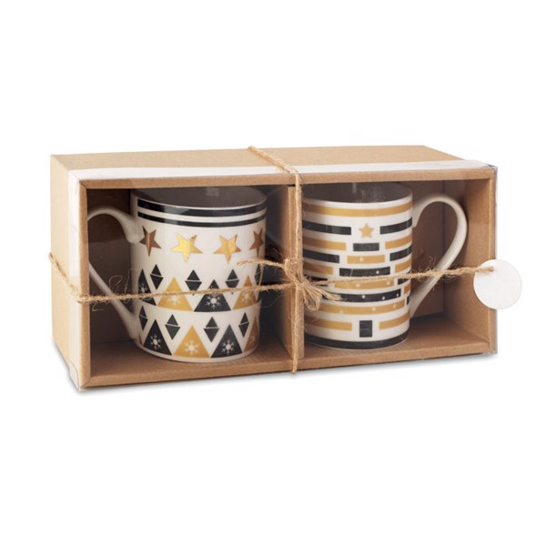 Set 2 mugs in gift box Tete A Tete