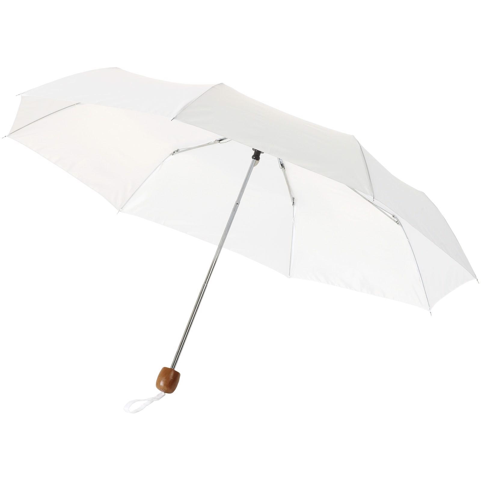 """21,5"""" skládací deštník Lino - Bílá"""