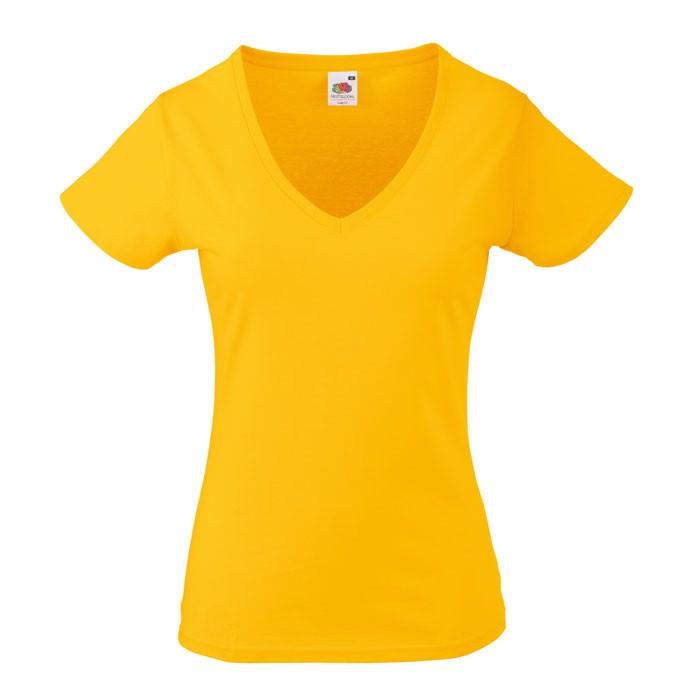 Ladies t-shirt 165 g/m² Lady-Fit Valueweight 61-398-0 - Sunflower / XXL