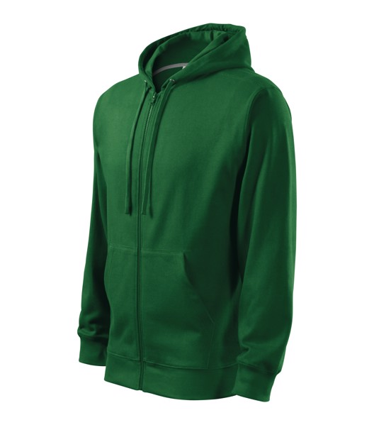 Sweatshirt Kids Malfini Trendy Zipper - Bottle Green / 10 years