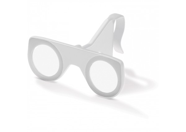 VR glasses foldable - White