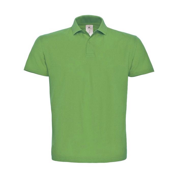 Men's Polo Shirt 180 g/m2 Pique Polo Shirt Id.001 Pui10 - Real Green / M