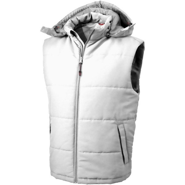 Gravel bodywarmer - White / 3XL