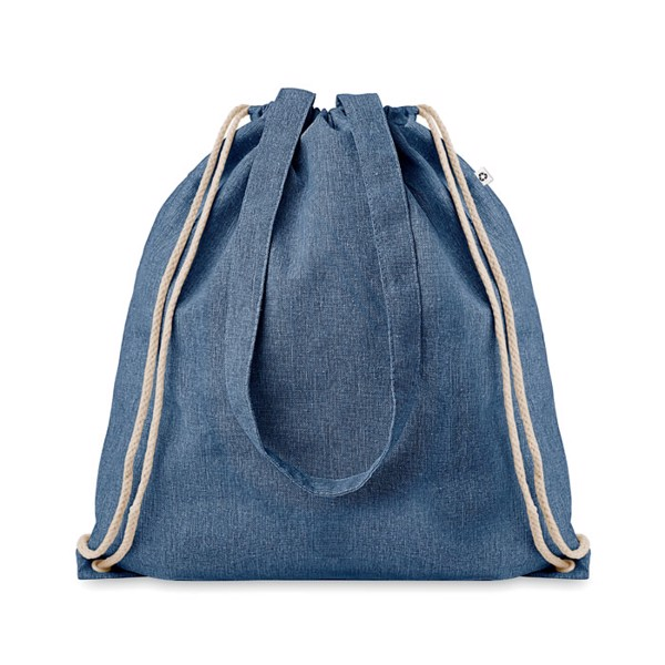 Recycled fabric 2 function bag Moira Duo - Royal Blue