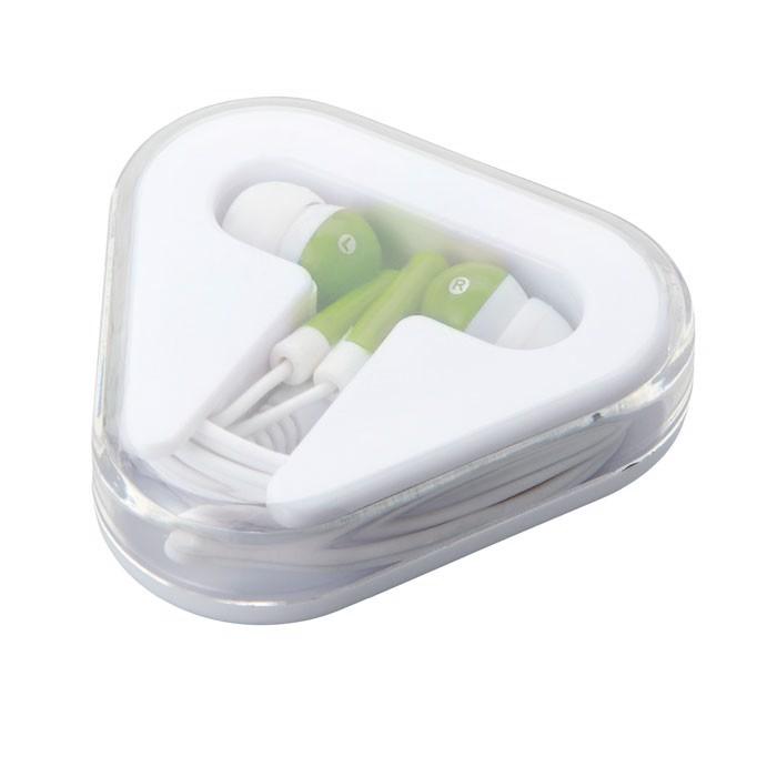 Słuchawki w pudełku. Musiplug - limonka