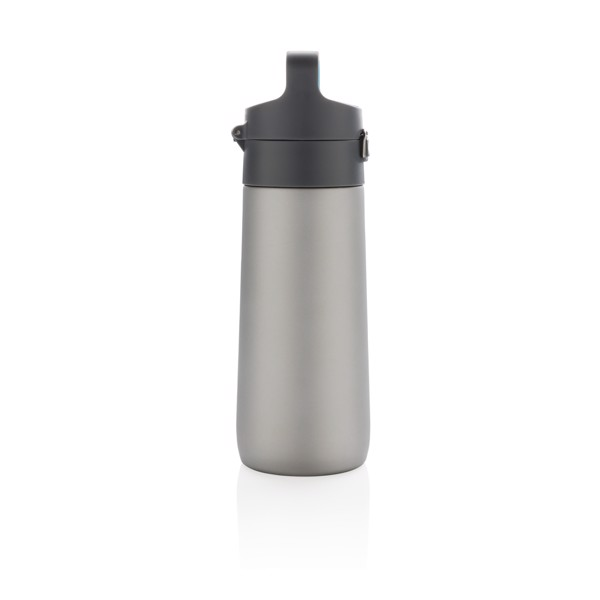 Nepropustná termo láhev Hydrate - Šedá / Modrá