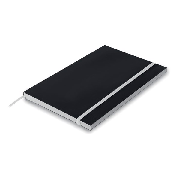 Carnet A5 dictando Black Note - white