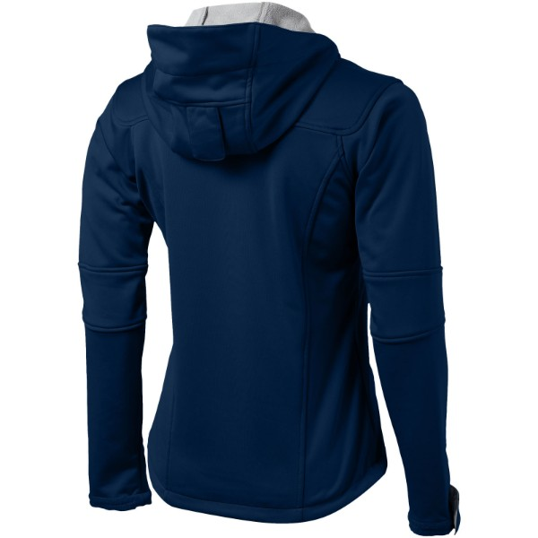 Match ladies softshell jacket - Navy / L