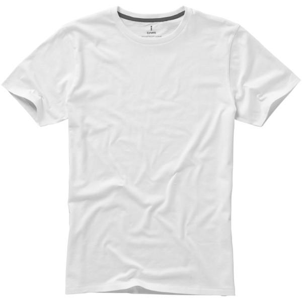 Pánské triko Nanaimo s krátkým rukávem - Bílá / 3XL