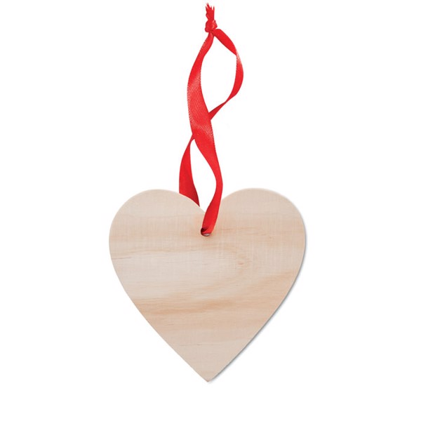 Heart shaped hanger Wooheart