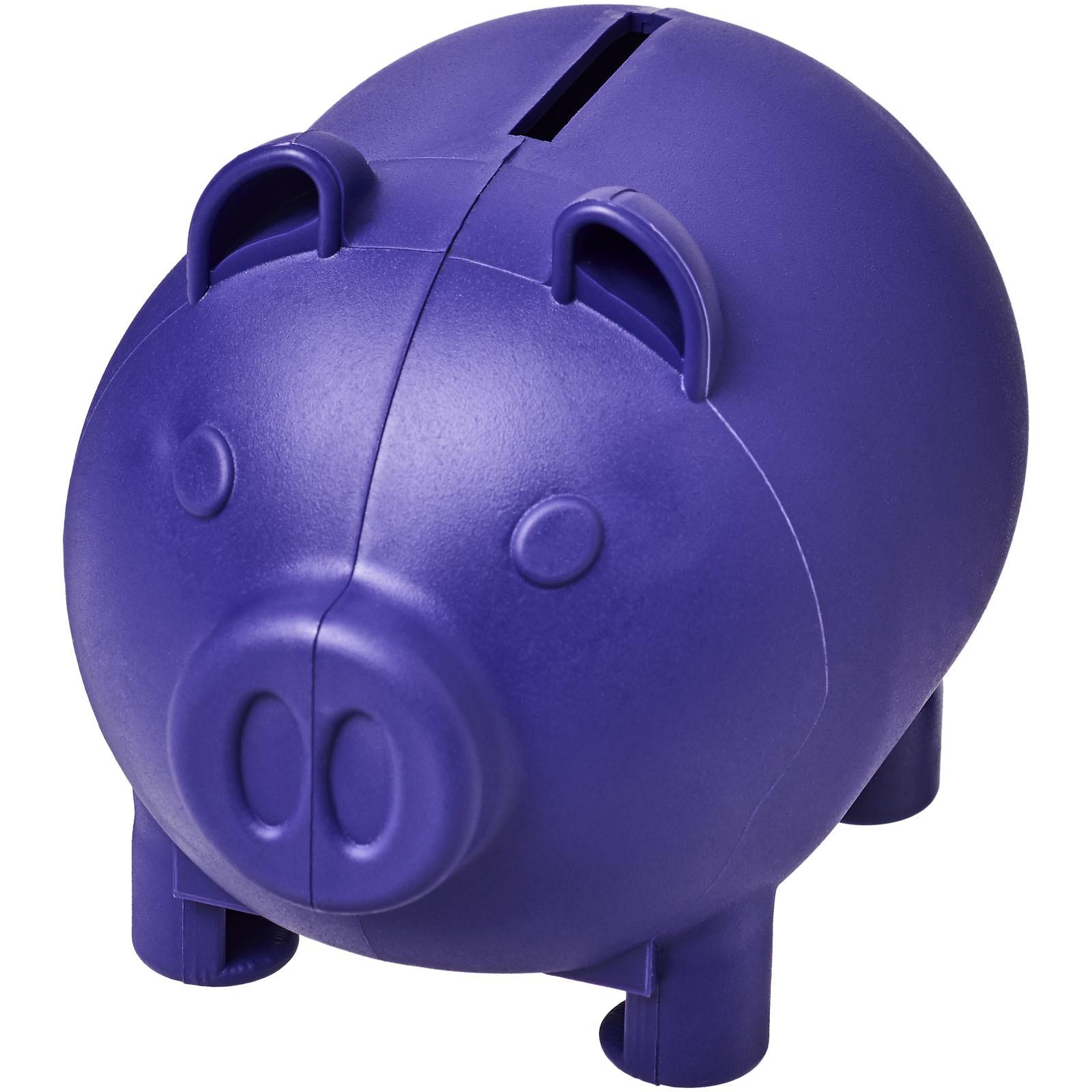 Malé prasátko na peníze Oink - Purpurová