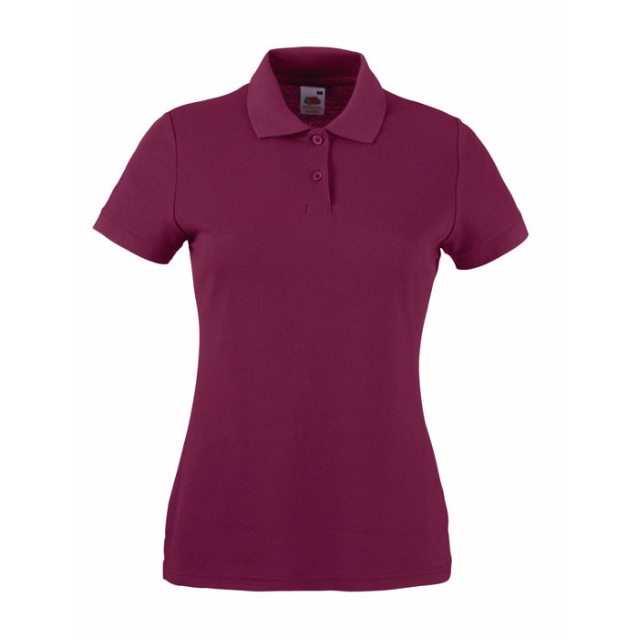 Dámská polokošile 65/35 Polo Lady-Fit  63-212-0 - Burgundy / L