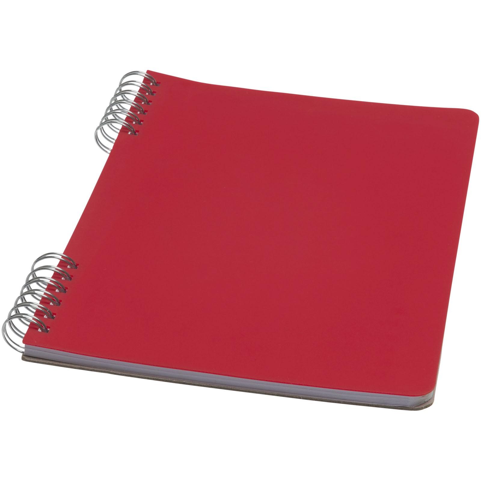 Flex A5 Spiralnotizbuch - Rot