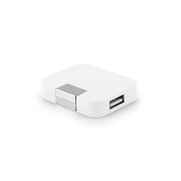 JANNES. USB hub 2'0 - White