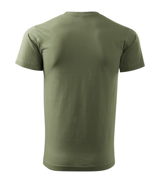 Tričko pánské Malfini Basic - Khaki / S