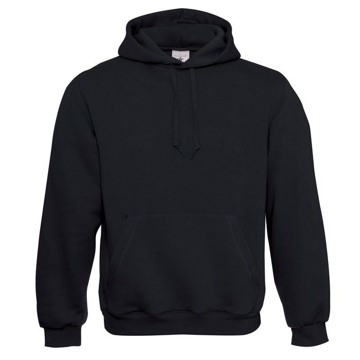 Kapuzen-Sweatshirt Hooded - Black/Black Opal / M