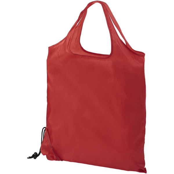 Scrunchy shopping tote bag - Red