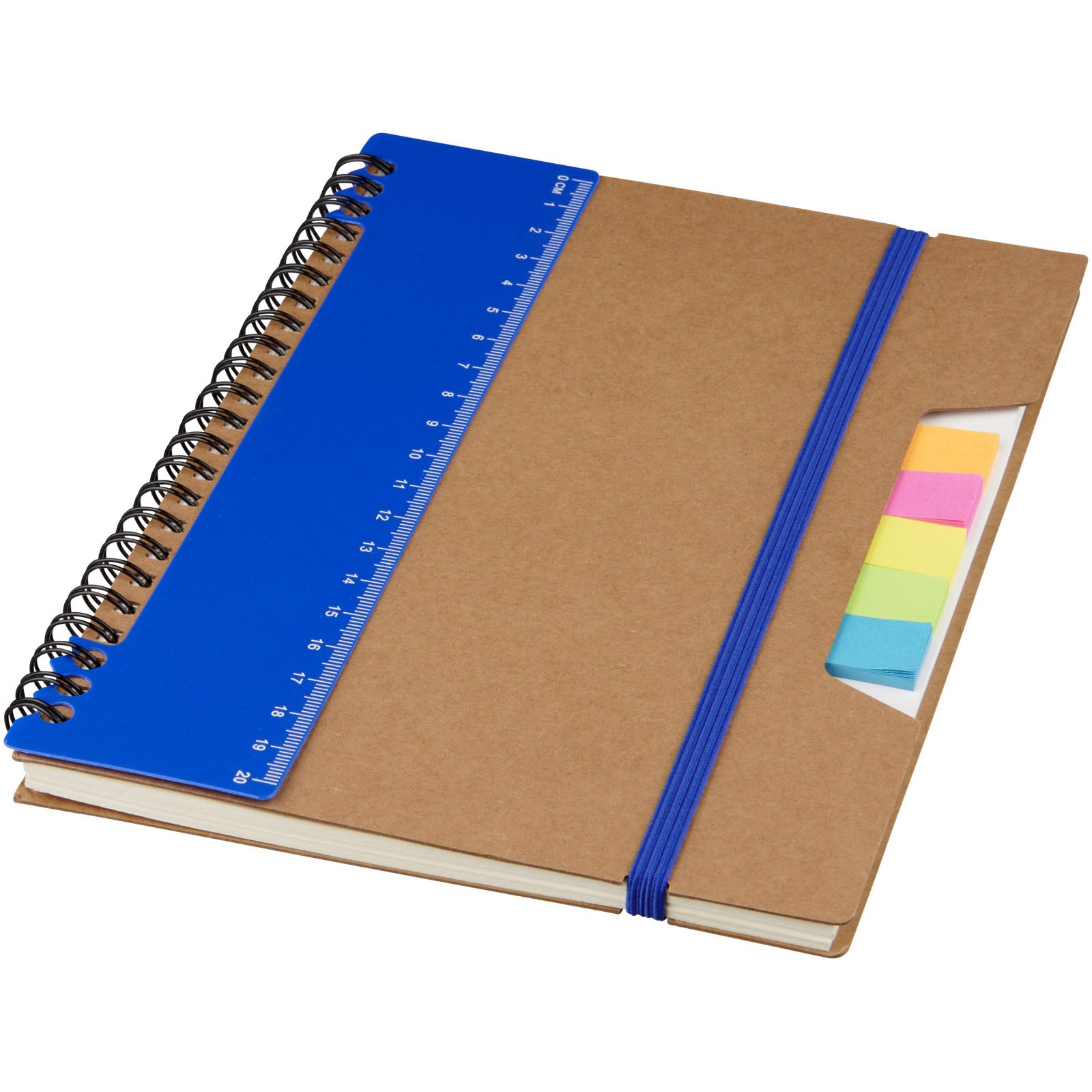 Josie A5 recycled notebook - Blue