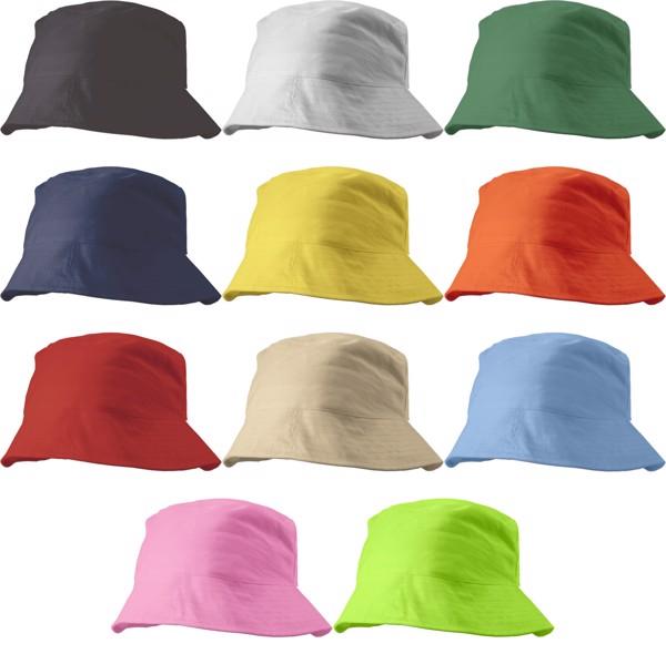 Cotton sun hat - Black