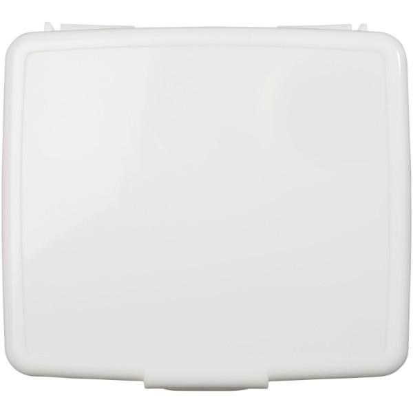 24dílná plastová krabička první pomoci Frederik - Bílá