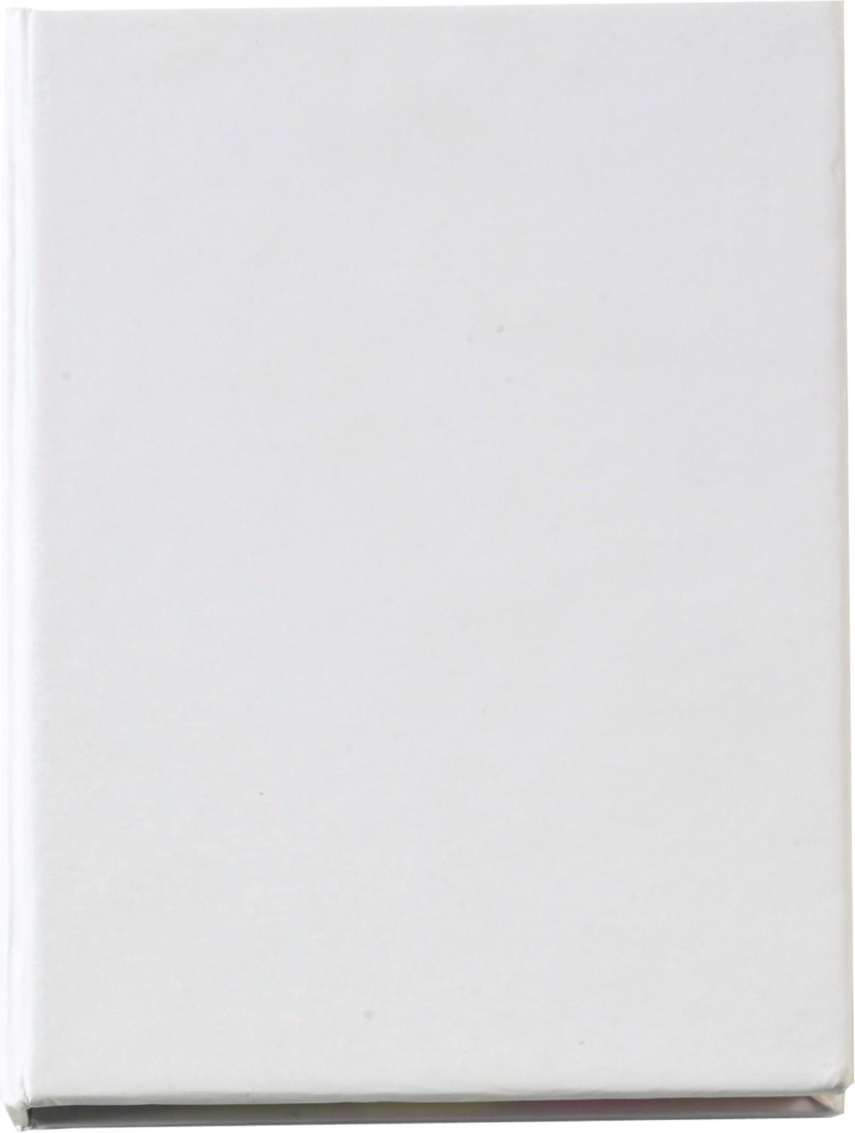 Soporte de cartón con memos - White