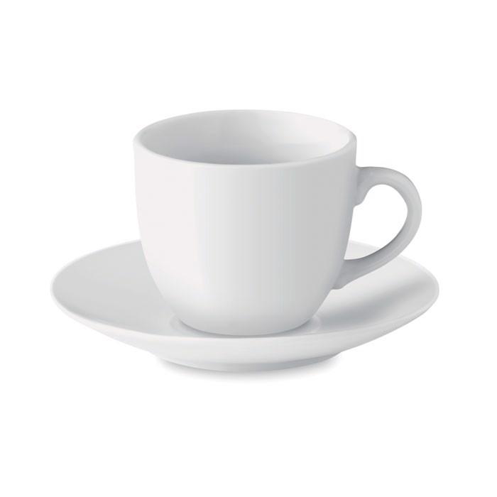 Skodelica za espresso s krožnikom 80 ml