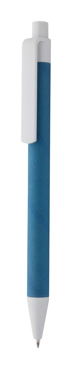 Kuličkové Pero Ecolour - Modrá / Bílá