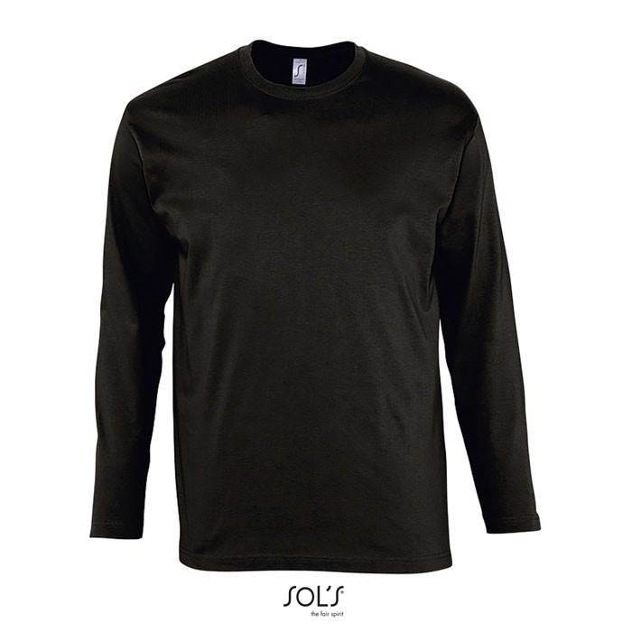 MONARCH MEN T-SHIRT 150g - Deep Black / XL