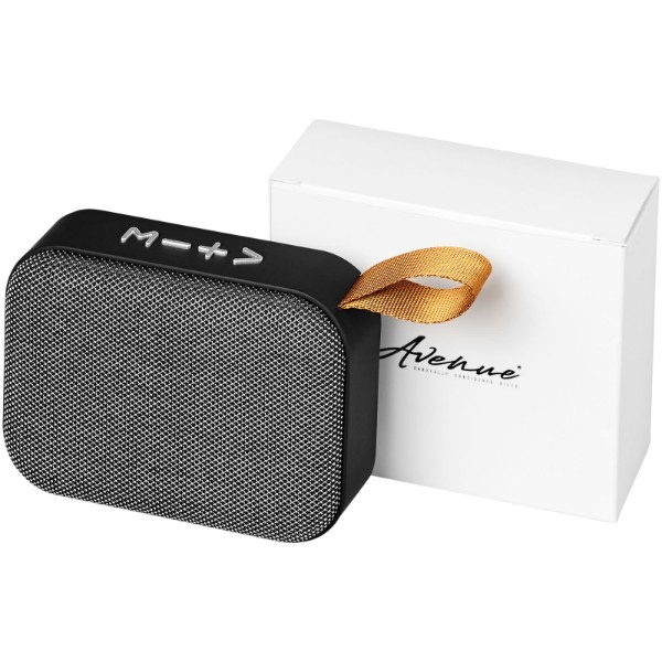 Fashion fabric Bluetooth® speaker - Grey