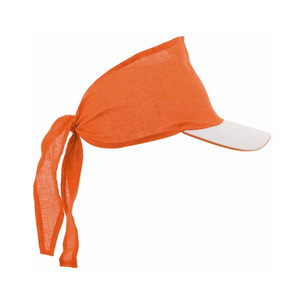 Sun Visor Inlady - Orange