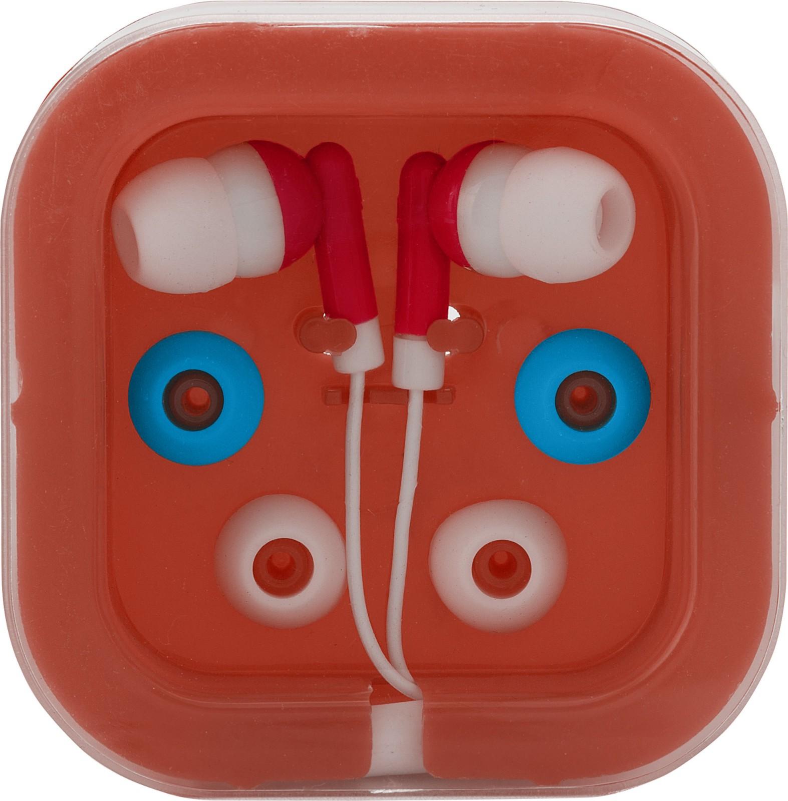 Kopfhörer 'Universal' aus Kunststoff/Metall - Red