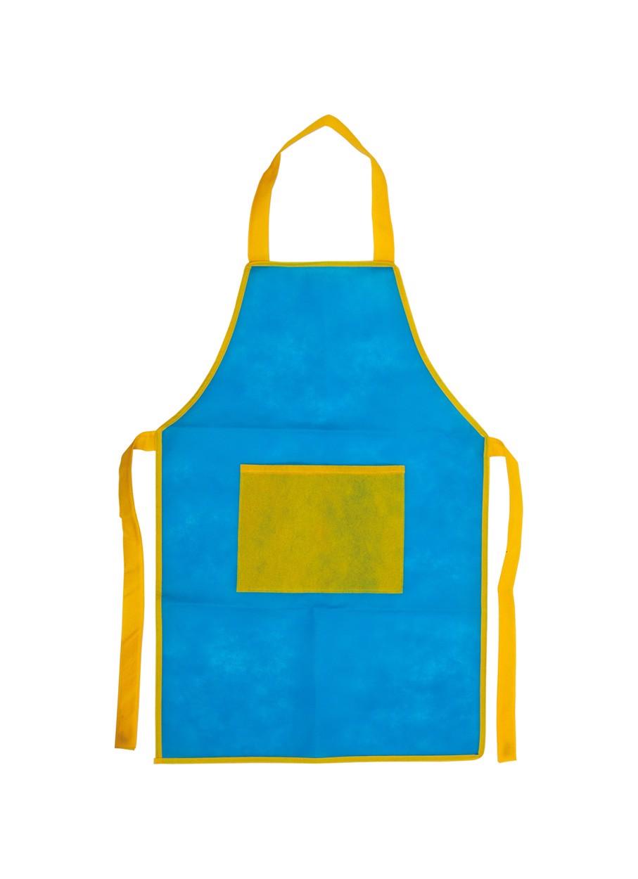 Apron For Children Nono - Blue / Yellow