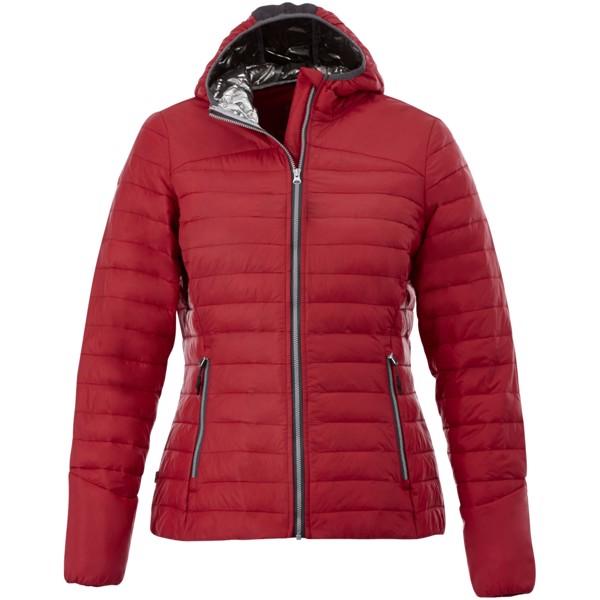 Dámská oteplená bunda Silverton - Červená s efektem námrazy / L