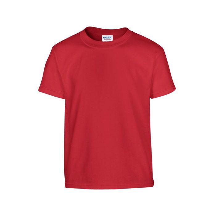 Youth t-shirt 185 g/m² Heavy Youth T-Shirt 5000B - Red / M