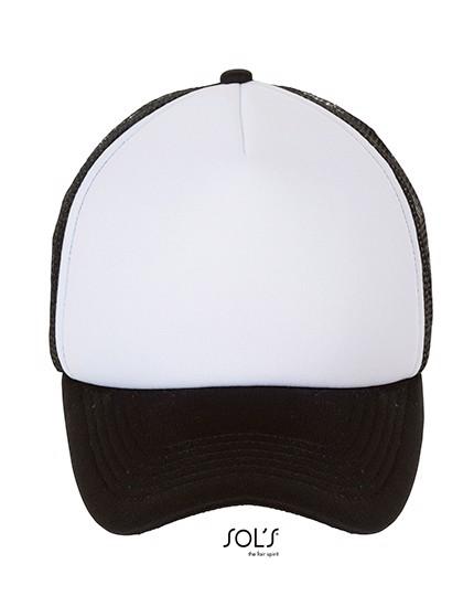 Bubble Cap - White / Black / One Size