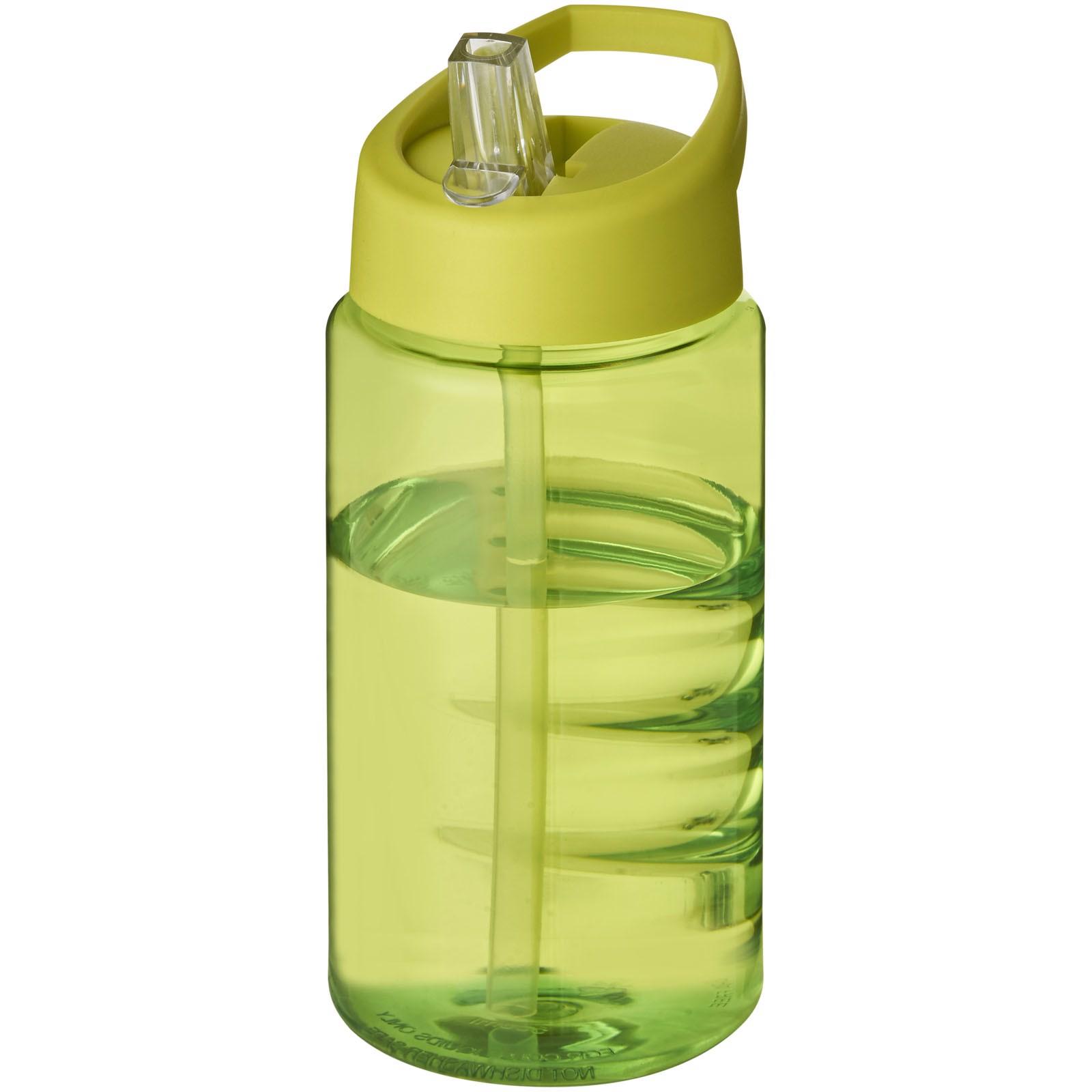 Sportovní láhev svíčkem shubičkou H2O Bop 500 ml - Limetka