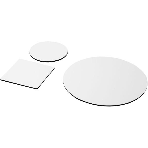 Komplet podloge za miško in podstavkov za kozarce Q-Mat® 4