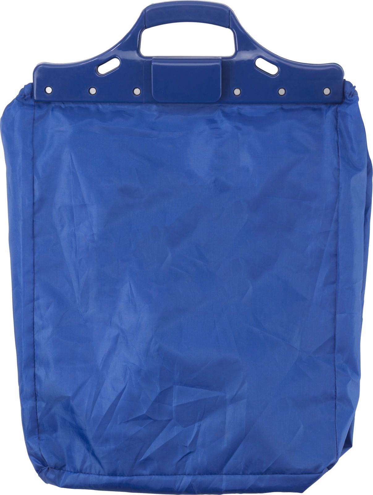 Polyester (210D) trolley shopping bag - Cobalt Blue
