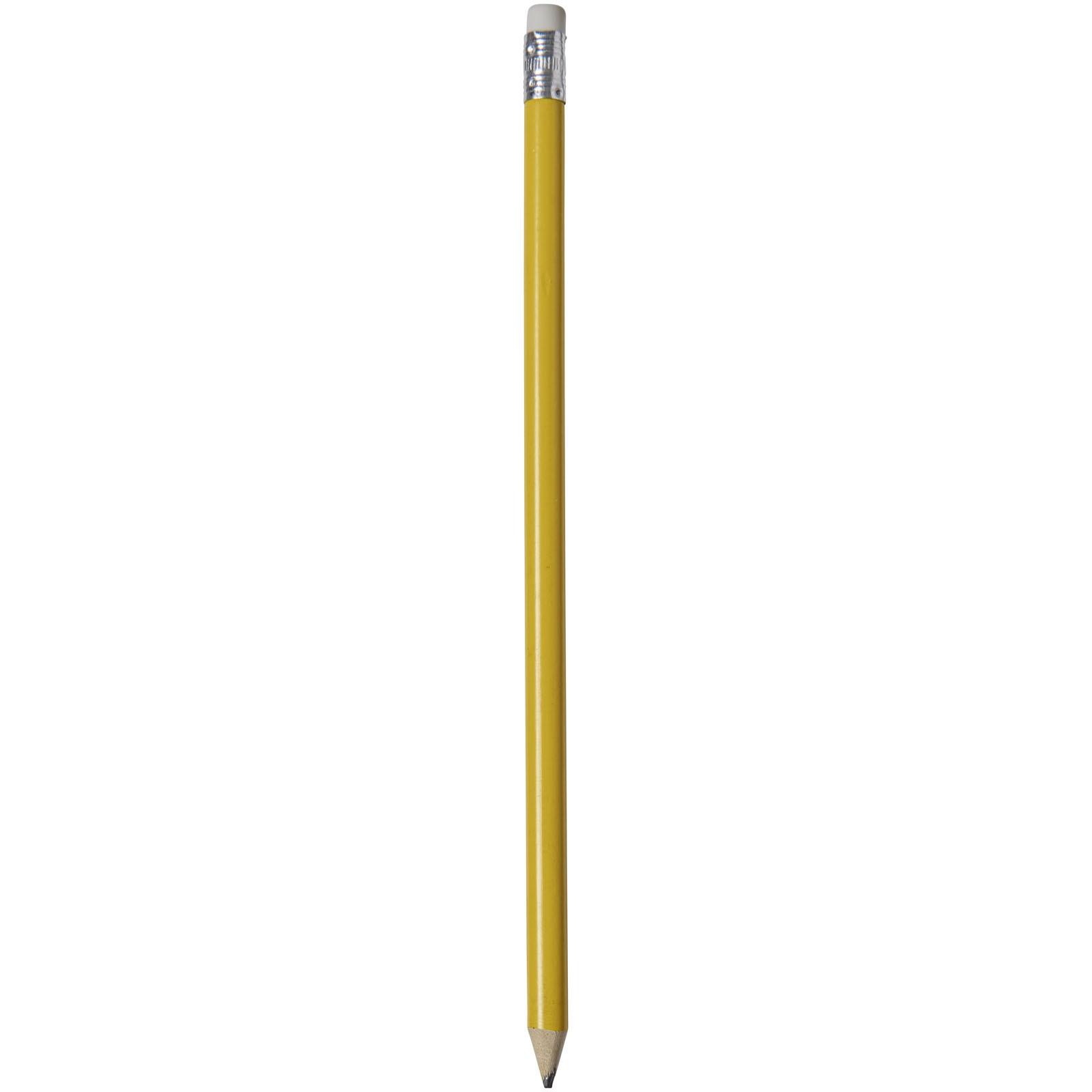 Ołówek z kolorowym korpusem Alegra - Żółty