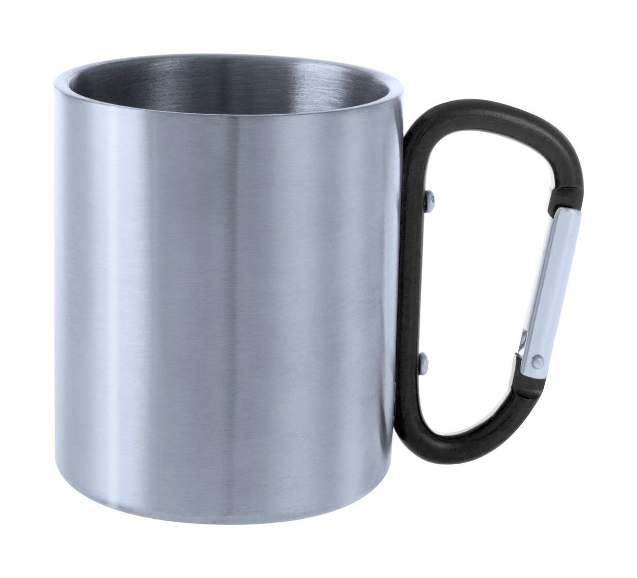 Metal Mug Bastic - Black / Silver